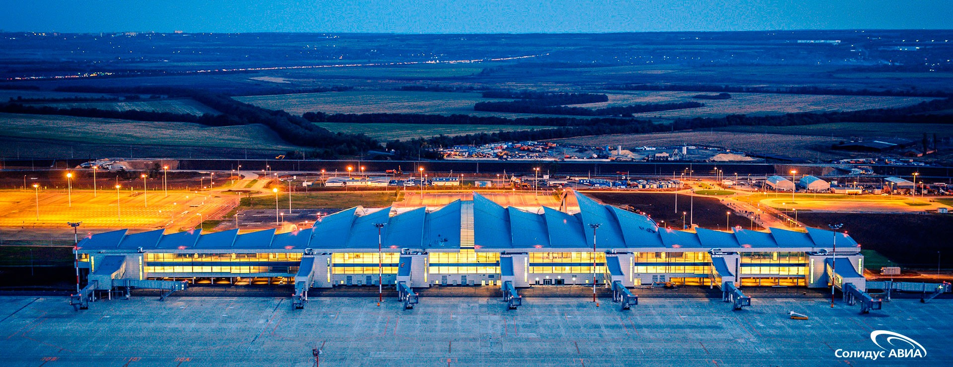 Аэропорт Платов: крупный инфраструктурные проект Ростовской области